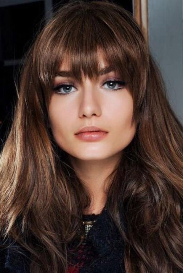 Couleur cheveux chocolate blush